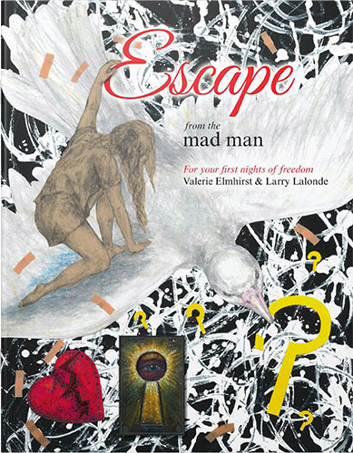 Escape from the mad man (Book Cover)